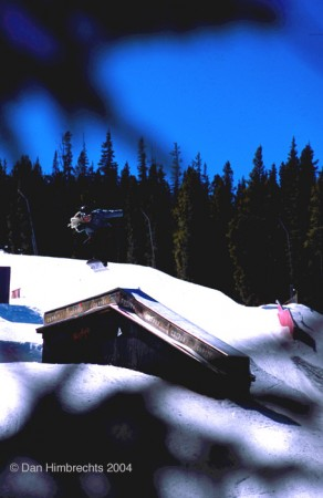 Big gap to backlip, Copper, Colorado, 2004