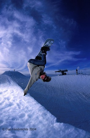 Frontside invert, Falls Creek, Aus. 2004