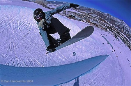 Indy to fakie, Buttermilk, Colorado, 2004. Shot on out of date Fuji Provia.
