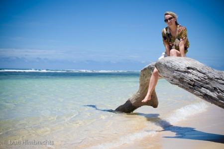 Clare, Natadola beach, Fiji