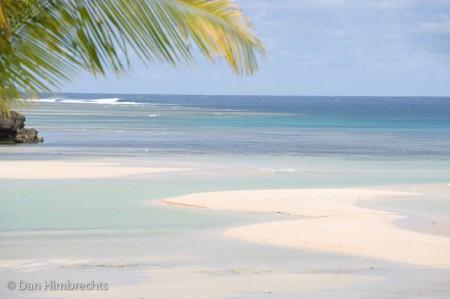The picturesque Natadola beach, Fiji