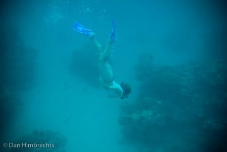 Clare diving, Natadola bay, Fiji